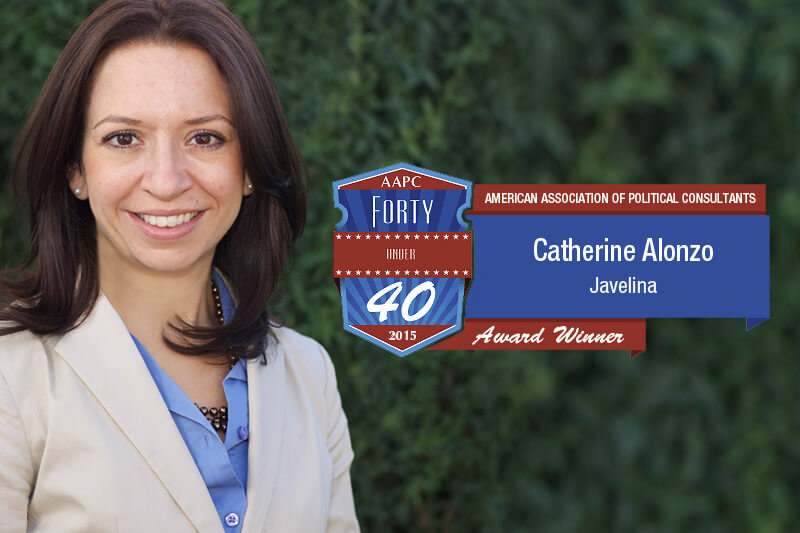 Catherine Alonzo Recognized by the AAPC for Her Leadership and Innovation