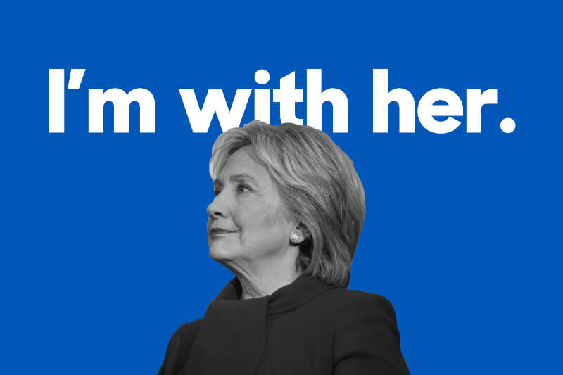 Hillary Clinton Post Election 2016 Be There for Each Other