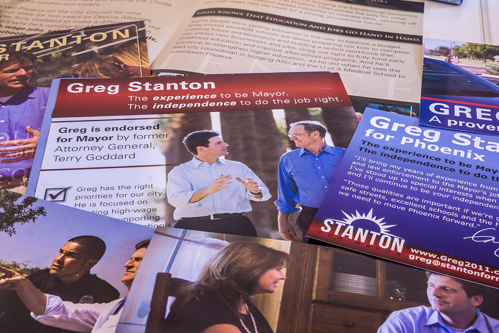 Mayor Greg Stanton Direct Mail Campaign
