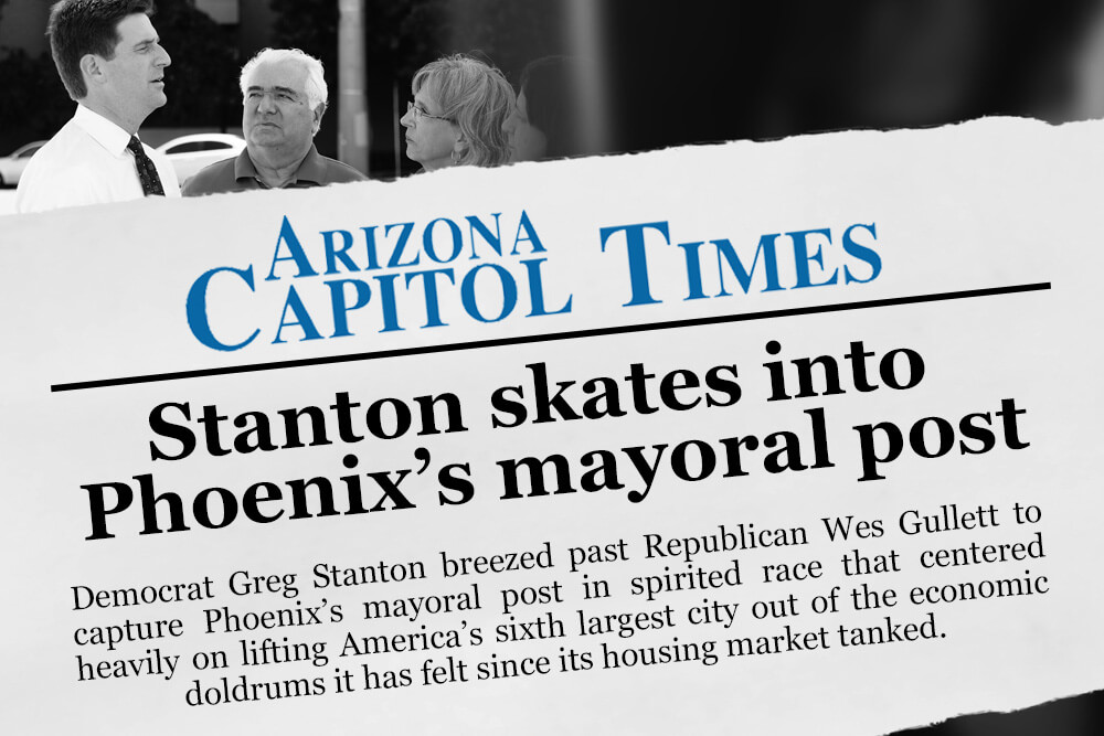 Mayor Greg Stanton Press Coverage Arizona Capitol Times