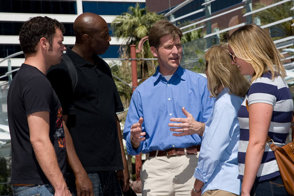 Mayor Greg Stanton Tells His Vision to Voters