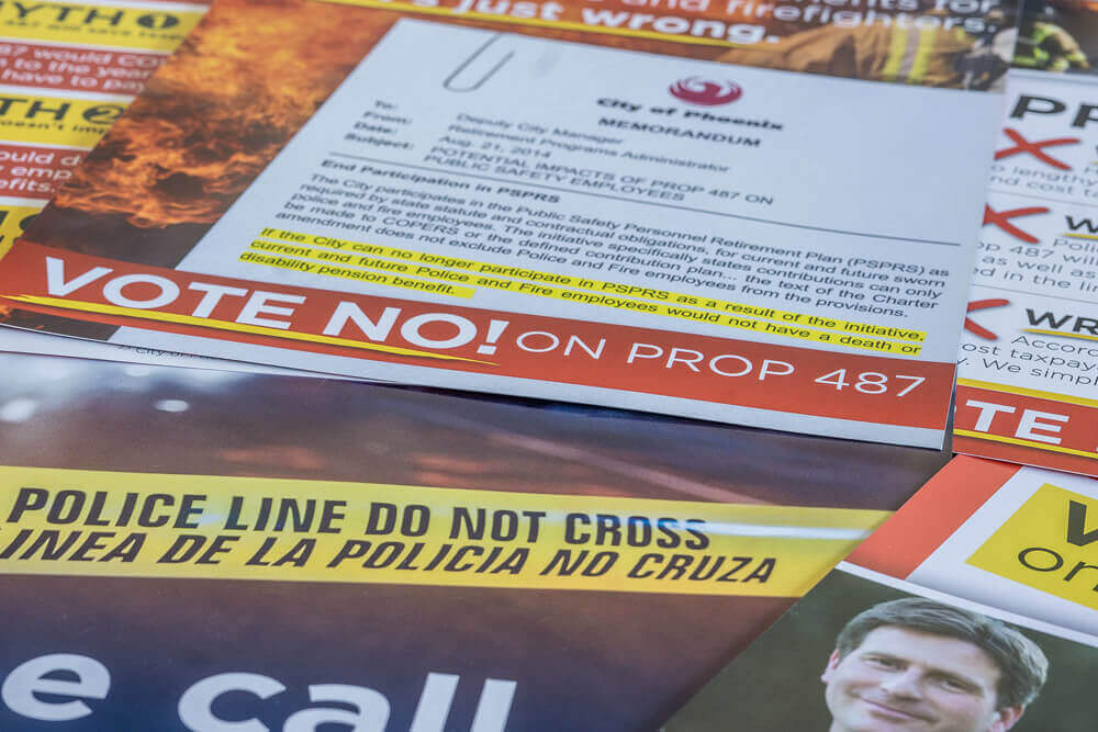 Prop 487 United Phoenix Firefighters Direct Mail