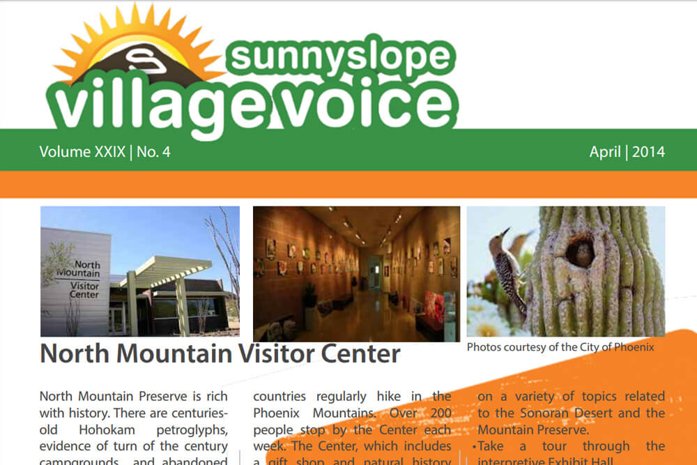 Sunnyslope Village Alliance Sunnyslope Village Voice