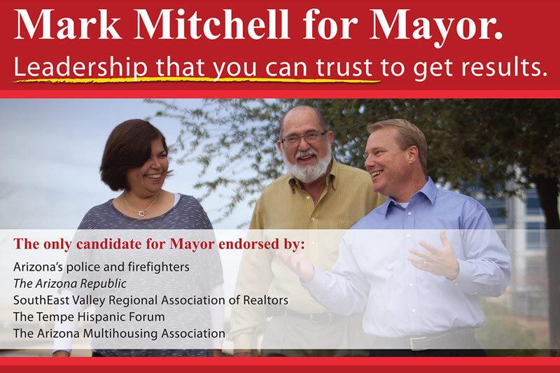 Javelina Winning Candidate Mark Mitchell Mayor of Tempe