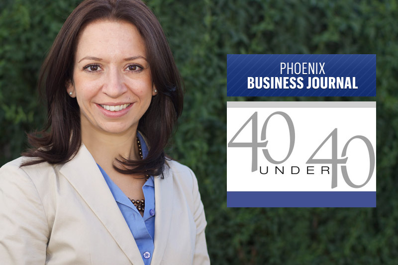 Phoenix Business Journal Names Catherine Alonzo in its 40 Under 40 Class of 2014