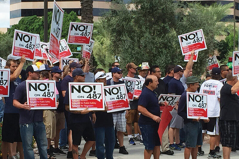 Prop 487 Pension Reform Rejected by Phoenix Voters