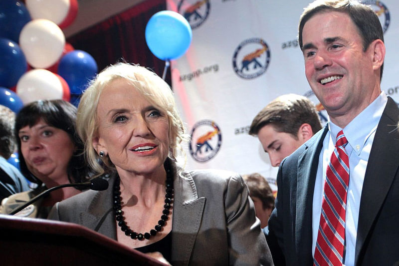 Race for Arizona Governor with Jan Brewer and Doug Ducey